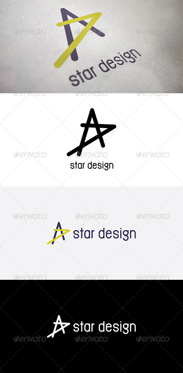 GraphicRiver Abstract Star Design 5041626