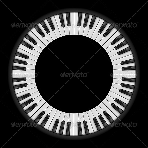 GraphicRiver Piano Keys 5042129