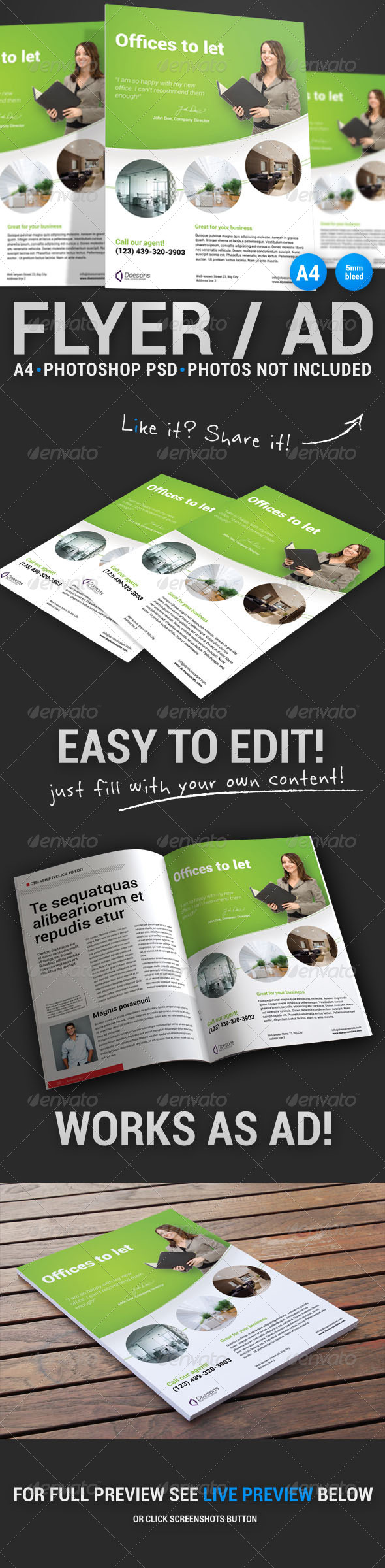 GraphicRiver Corporate Flyer 16 5042918