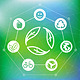 Ecology Concept with Recycle Emblem - GraphicRiver Item for Sale