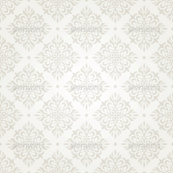 GraphicRiver Silver Vintage Wallpaper 5044694