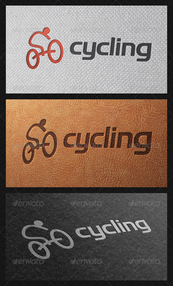 GraphicRiver Cycling Team Logo Template 5046021
