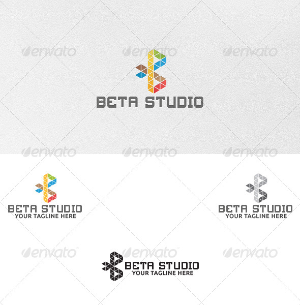 GraphicRiver Letter B Logo Template 5047976