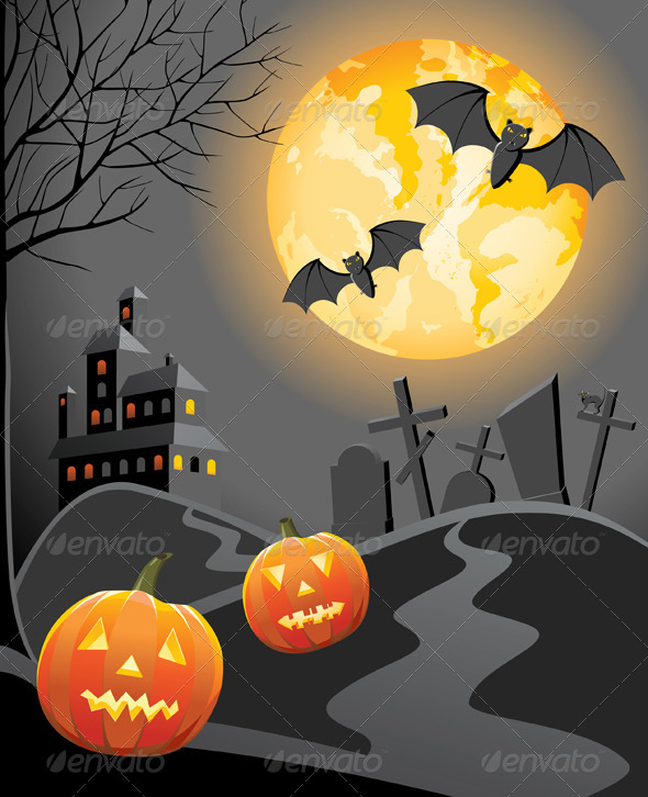 GraphicRiver Halloween Background 5016312
