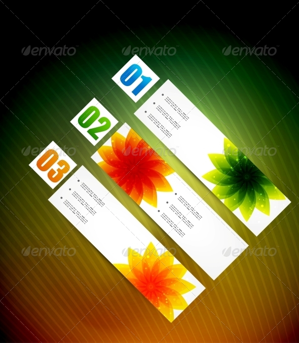 GraphicRiver Glossy Modern Banners Template 5049599