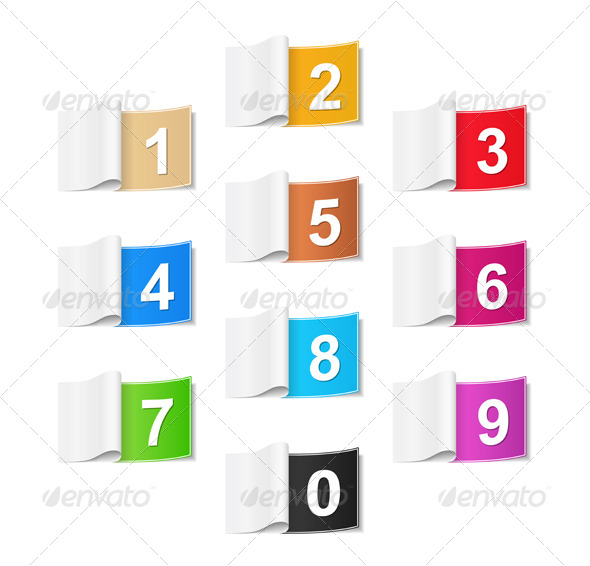 GraphicRiver Numbers 5052425