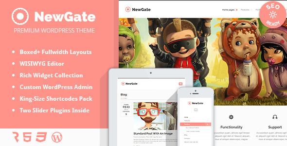 ThemeForest NewGate Agency Business WordPress Theme 5052602
