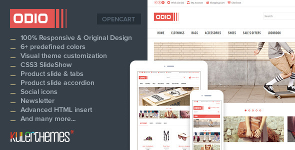 Odio - Premium OpenCart Theme for Fashion Stores - OpenCart eCommerce