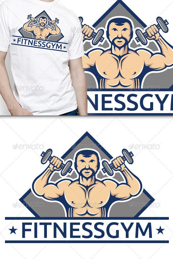 GraphicRiver Fitness Gym T-shirt 5052676