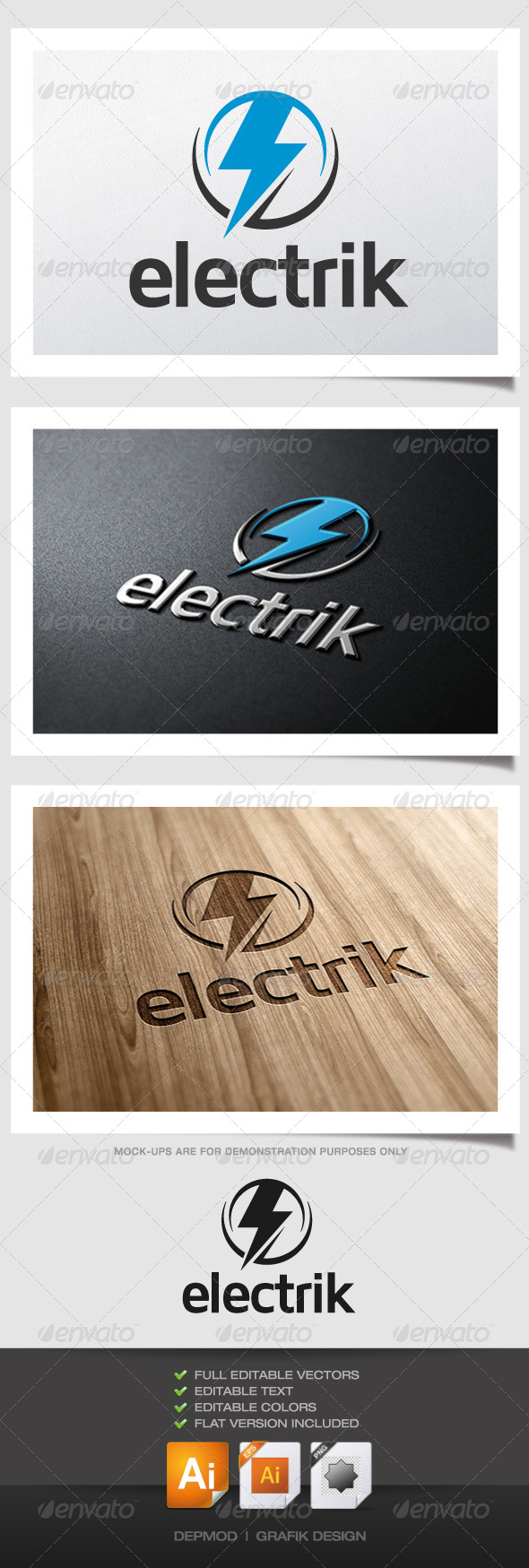 GraphicRiver Electrik Logo 5053113