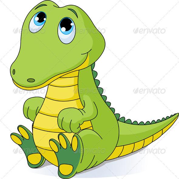 GraphicRiver Baby Crocodile 5053226