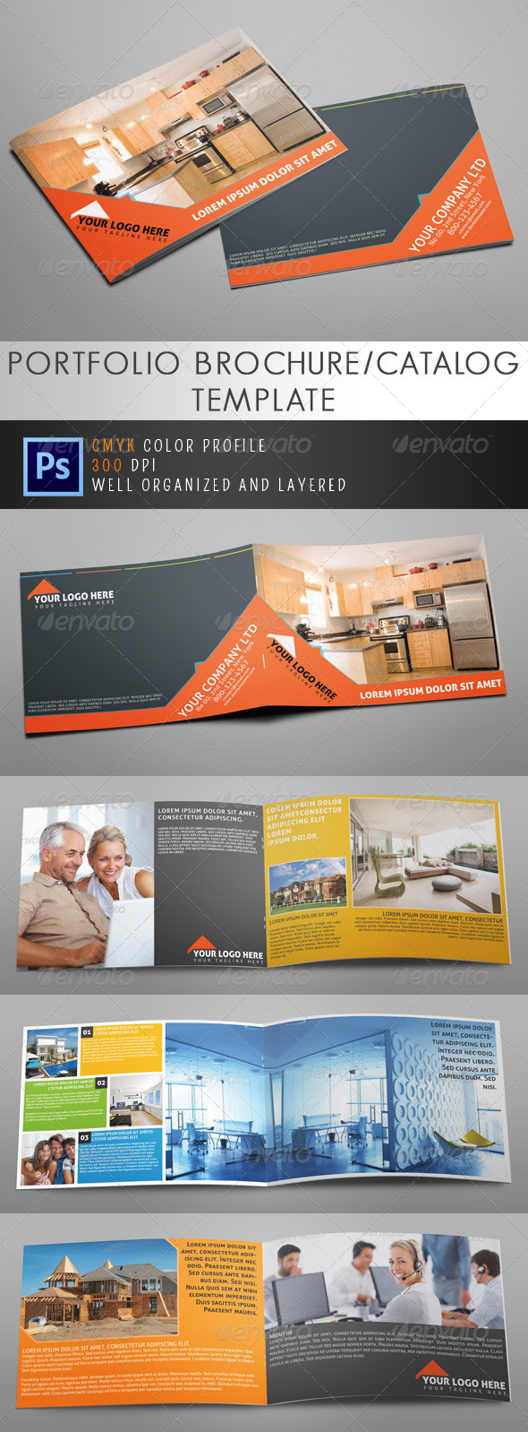 GraphicRiver Real Estate Brochure or Catalog 5053244