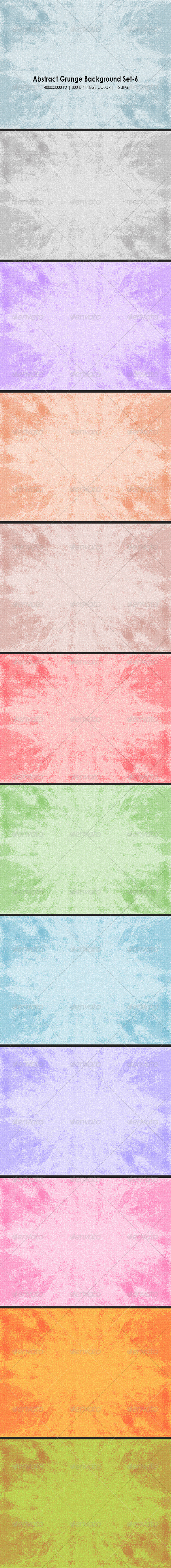 Abstract Grunge Background Set 6 - Abstract Backgrounds