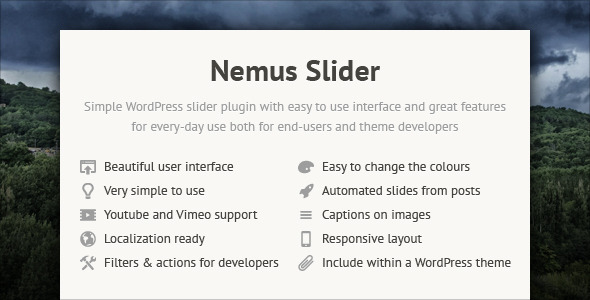 Nemus Slider - Article WorldWideScripts.net en venda