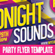 Electro Music Event - Flyer Template - GraphicRiver Item for Sale