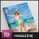 Summer Holidays Magazine Template - GraphicRiver Item for Sale