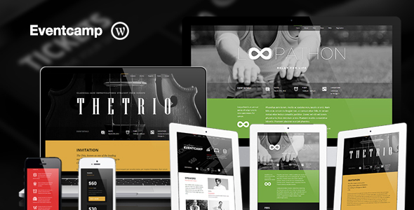 Eventcamp - Responsive One Page Marketing Theme