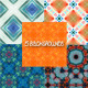 Set of Five Backgrounds - GraphicRiver Item for Sale