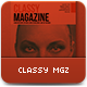 Indesign Classy Magazine - GraphicRiver Item for Sale