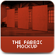 The Fabric MockUp - GraphicRiver Item for Sale