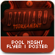 Pool Night Flyer Template - GraphicRiver Item for Sale