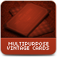 Multipurpose Vintage Cards - GraphicRiver Item for Sale