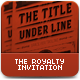 The Royalty Flyer or Invitation  - GraphicRiver Item for Sale