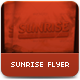 Sunrise Flyer