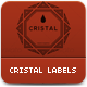 Cristal Labels - GraphicRiver Item for Sale