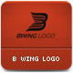 B Wing Company Logo - GraphicRiver Item for Sale