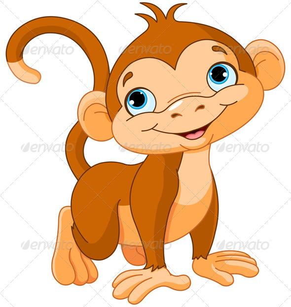 GraphicRiver Baby Monkey 5055720