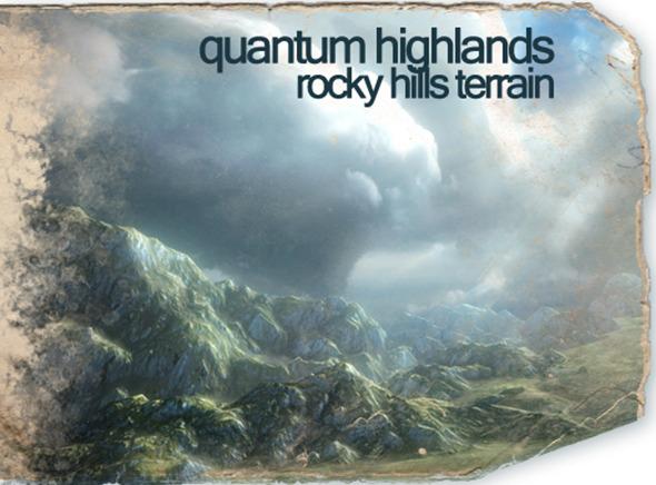 3DOcean Quantum Highlands Rocky Hills Terrain Pack 5055926