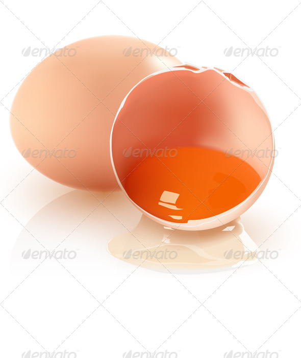 GraphicRiver Two Brown Eggs 5056931