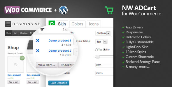 CodeCanyon WooCommerce Ajax Drop Down Cart 5048421