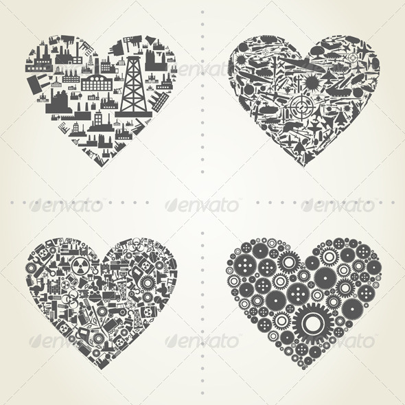 GraphicRiver Heart the Industry 2 5057323