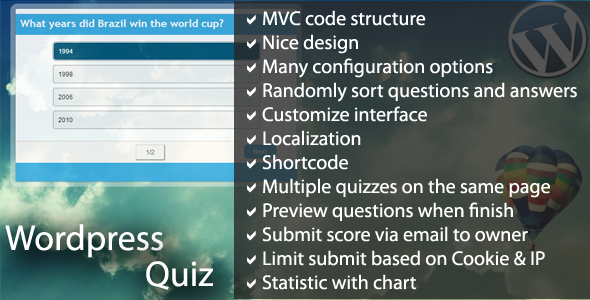 CodeCanyon Wordpress Quiz 5057356