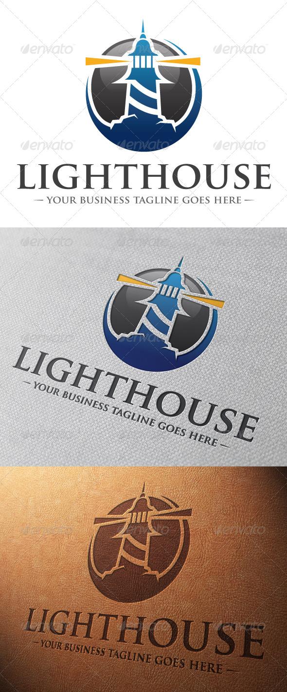 GraphicRiver Lighthouse Logo Template 5057759