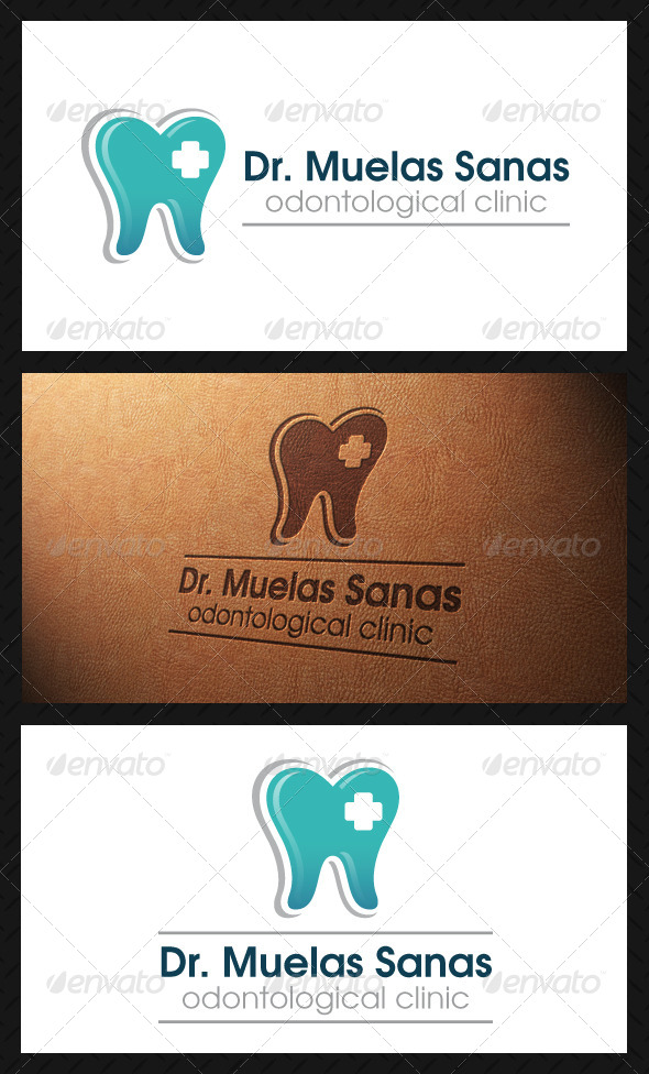 GraphicRiver Dental Logo Template 5058387