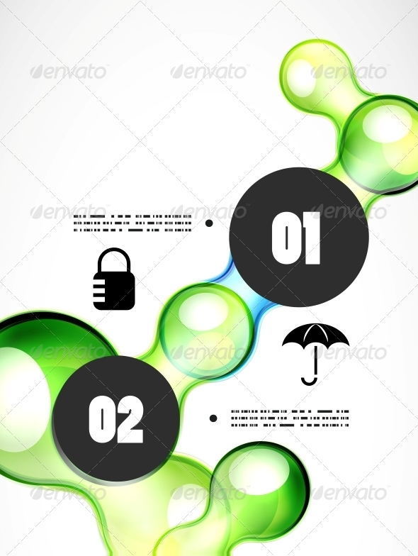 GraphicRiver Abstract Futuristic Infographics Template 5058417