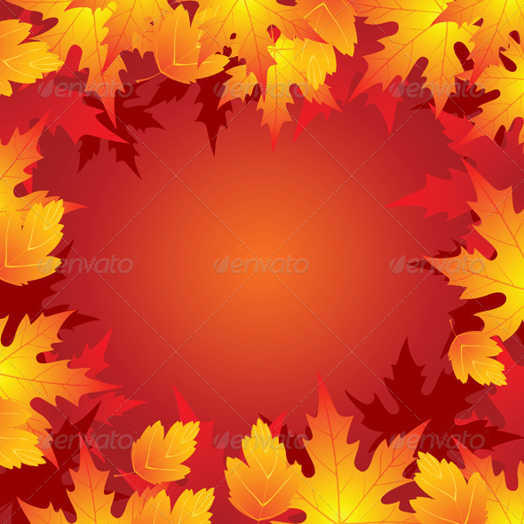 GraphicRiver Autumn Background 5058421