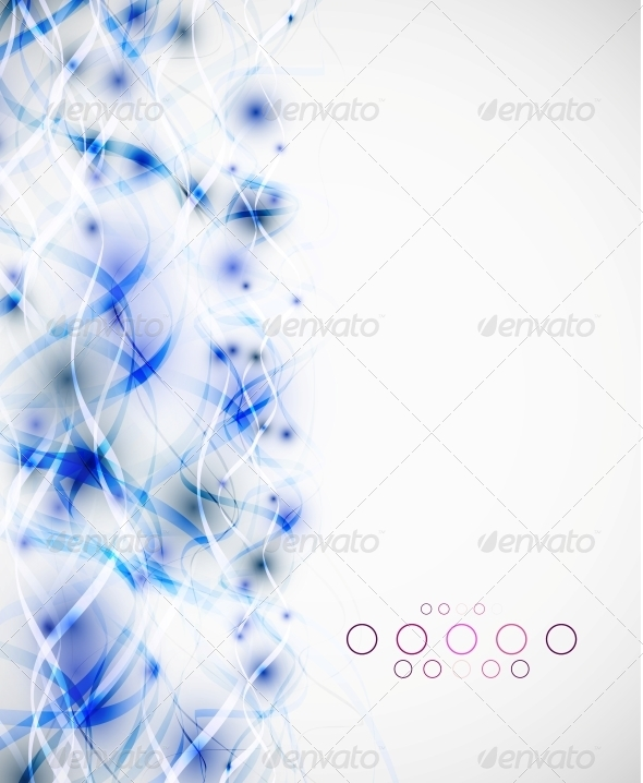 GraphicRiver Abstract Wavy Lines Modern Template 5058512