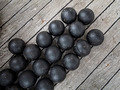Old cannon balls - PhotoDune Item for Sale