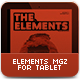 The Elements Tablet MGZ - GraphicRiver Item for Sale