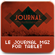 Le Journal Tablet Magazine Template - GraphicRiver Item for Sale