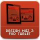 Tablet MGZ Template - GraphicRiver Item for Sale