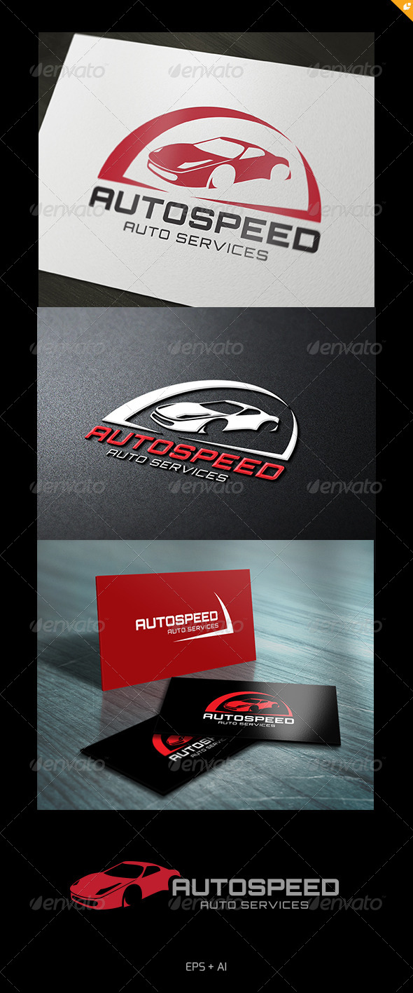 GraphicRiver Super Auto Speed Logo 5060795
