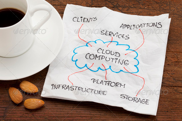 Stock Photo - PhotoDune cloud computing concept 520569