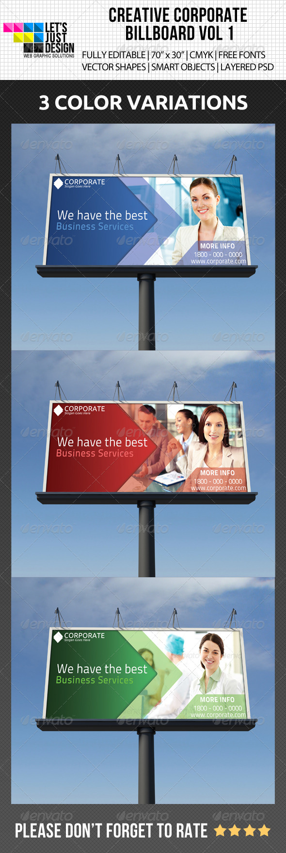 GraphicRiver Creative Corporate Billboard Vol 1 5062717