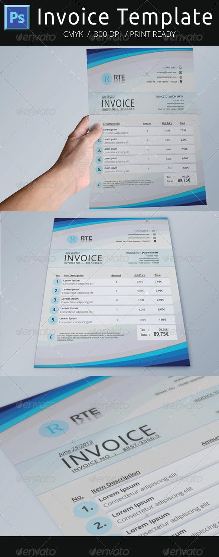 GraphicRiver Invoice Template 5063891