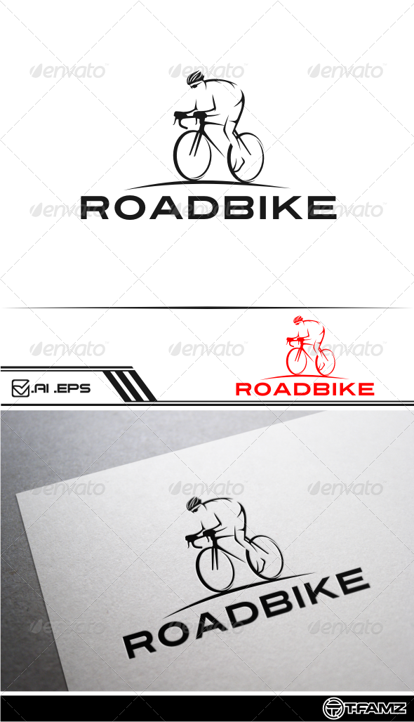 GraphicRiver Roadbike Logo Templates 5008280